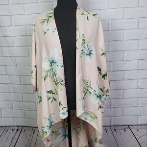 EASTER SALE Allie Rose floral kimono size medium